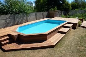 terrasse en cumaru avec marches pour piscine hors sol jeleveux