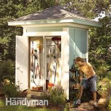 How To Build A Easy Shed by Tips For Building A Storage Shed Family Handyman