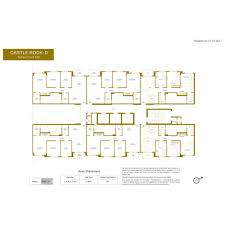 Castle Rock Floor Plans by Hiranandani Castle Rock Project By Hiranandani Group In Powai West