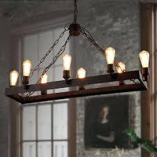 Industrial Lighting Chandelier Pulley Light Metal Light Steunk Ceiling Light Industrial