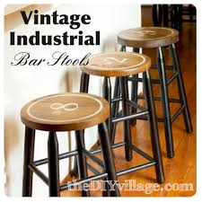 Vintage Metal And Wood Cafe Chair Pneumatic Addict 50 Diy Industrial Decor Ideas