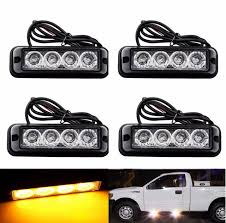 strobe light bulbs for cars new video 12v 24v universal 4x4led car amber emergency flash strobe