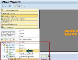 tutorial java web dynpro sap web dynpro faceless components