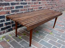 Slat Bench Coffee Table Tables U2013 Found By Faited