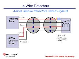 4 wire smoke detector diagram wiring diagrams