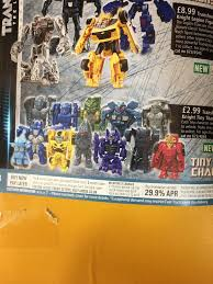 transformers the last knight tiny turbo changers series 2 line up