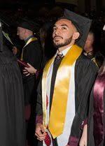 honor stoles graduation line formation