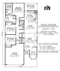 3 bedroom flat plan view house plans bath impressive four low cost