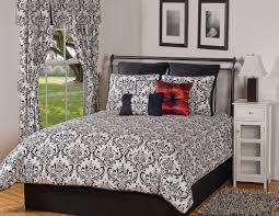 California King Bed Comforter Sets Bedroom Luxury Embossed Solid Oversized Bedding With Black And