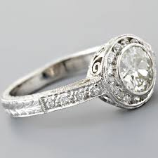 fay cullen archives rings art deco diamond engagement ring