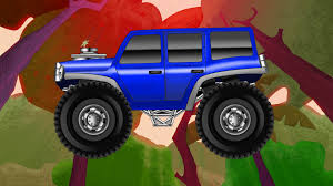 monster truck cartoon videos kids monster truck kids videos trucks cartoon youtube