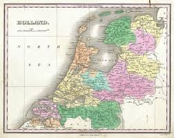 Map Of The Netherlands File 1827 Finley Map Of Holland Or The Netherlands Geographicus