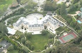 spelling manor valued at 150 million the abode built for