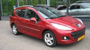 lease a peugeot peugeot 207 sw sw 1 6 vti 16v blue lease executive navi ecc