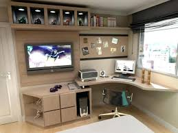 Bed And Computer Desk Combo Bedroom Tv Stand With Study Table Simple Desk And Cabinet