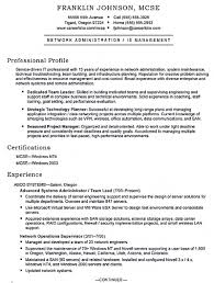 Administrative Sample Resume by Windows Sys Administration Sample Resume 19 Sample Resume System