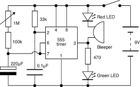 1 minute to 10 minutes adjustable timer circuit