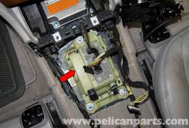 mercedes benz w211 transmission shift module replacement 2003