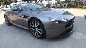used 2013 aston martin v8 vantage convertible gray for sale in