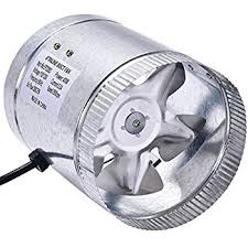 suncourt 6 inline duct fan suncourt inc db206 crd 6 inch in line duct fan with cord ducting