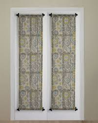 Magnetic Curtains For Doors French Door Curtain Ideas Chair Ideas And Door Design
