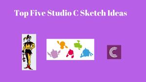 top five studio c sketch ideas youtube