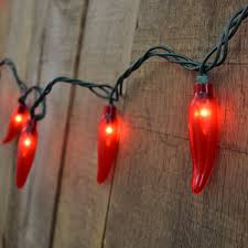 35 Count Red Chili Pepper String Lights