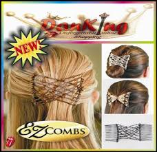 ez combs hairstyles using hair combs tuny for