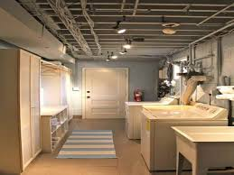 low ceiling basement ideas basement remodeling ideas low ceilings
