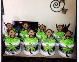 monkey decorations for baby shower cool design ideas monkey centerpieces for baby shower decorations
