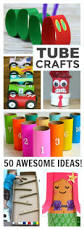 cardboard tube crafts for kids growing a jeweled rose