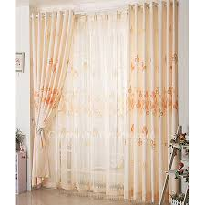 Orange White Curtains Orange Modern Pattern Toile On Sale Bedroom Curtains