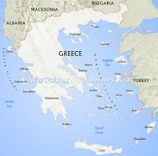 Italy And Greece Map by Greece Physical Map