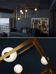 Contemporary Lighting by Mondrian Glass Ceiling Lamp By Venicem Interior Design Blog