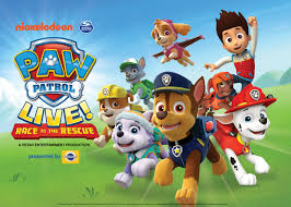 paw patrol live race rescue morris performing arts