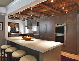kitchen cabinet refurbishment travertine countertops gray stained kitchen cabinets lighting