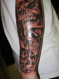 skull forearm tattoos designs ideas and meaning tattoos for you