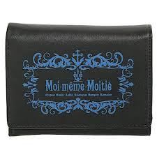 Meme Moi - cdjapan mmm folded wallet f egm 82837 bkn moi meme moitie apparel