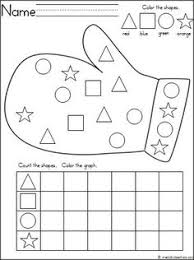 free christmas winter graphing activity great for pre k