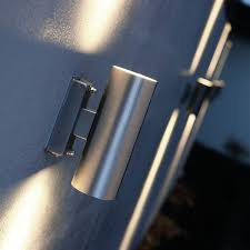 outdoor double wall light nordlux tin double outdoor wall light stainless steel