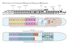 ship floor plans viking fontane cruise ship standard river ship