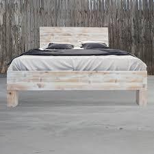 Wood Bed Frames Build Rustic Wood Bed Frame And Headboard Editeestrela Design