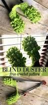 Window Blind Duster Mini Blinds Duster Crochet Pattern And Custom Blind Cleaner