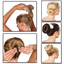 hairstyles using a bun donut buy 2 pc hot buns magic hair styling doughnut donut bun ring