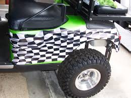 Golf Cart Flags Golf Cart Full Color Large Racing Checkered Flag