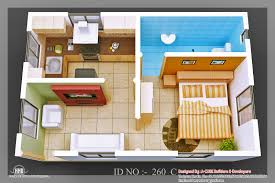 And Contemporary One Bedroom With Large Closet Design Ideas Also - One bedroom house design