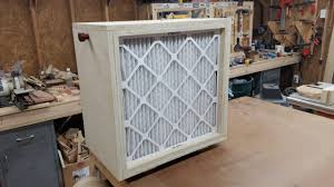 box fan filter woodworking diy air cleaner and dust filter youtube