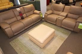 Palliser Leather Reclining Sofa The Norwood Power Reclining Sofa And Console Love By Palliser