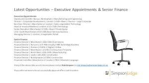 Senior Executive Manufacturing Engineering Simpson Judge Ltd Simpsonjudge Twitter