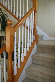 Wooden Banister Wood Balusters Folsom Stair U0026 Woodworks